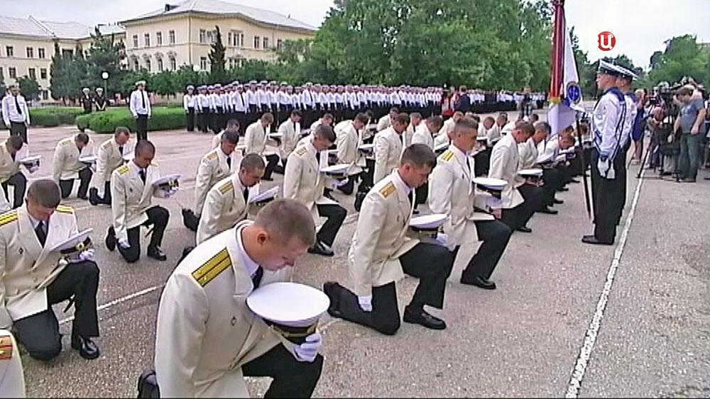 Выпускной курсантов-нахимовцев в Севастополе