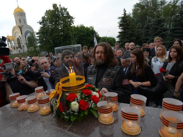 Акции, посвященные 74-й годовщине начала Великой Отечественной войны