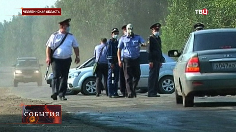 Жара в Челябинске