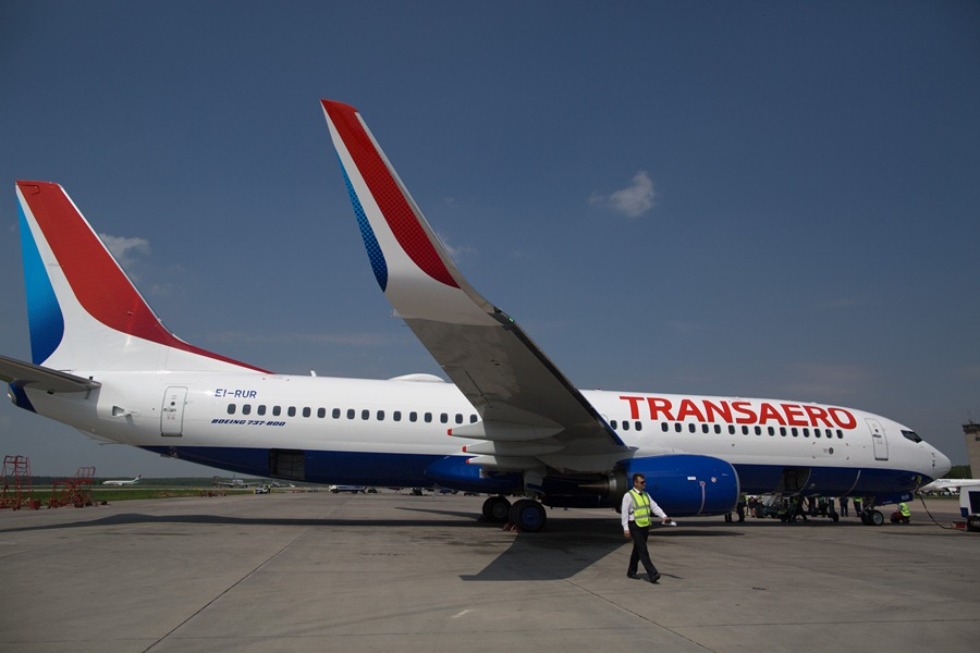 "Boeing 737 авиакомпании ""Трансаэро"""