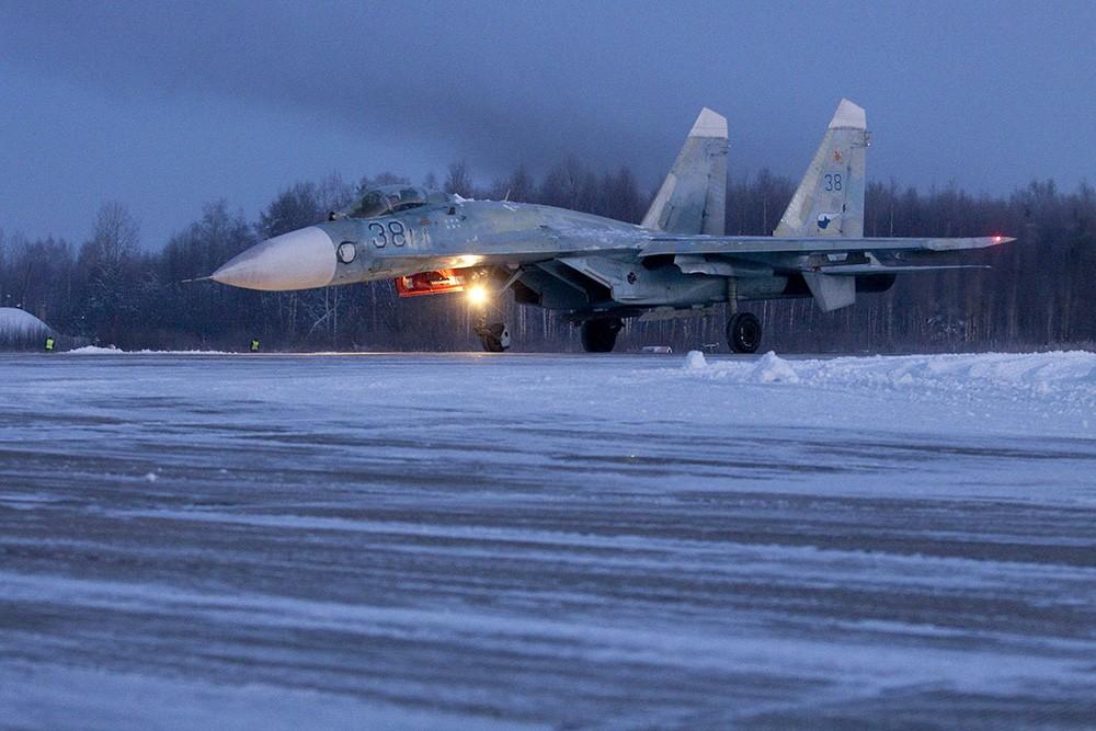 Истребитель Су-27С