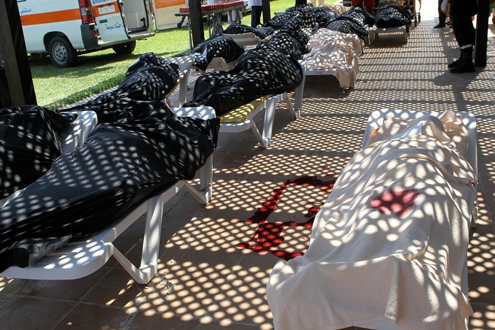 Жертвы нападения на отели в Тунисе