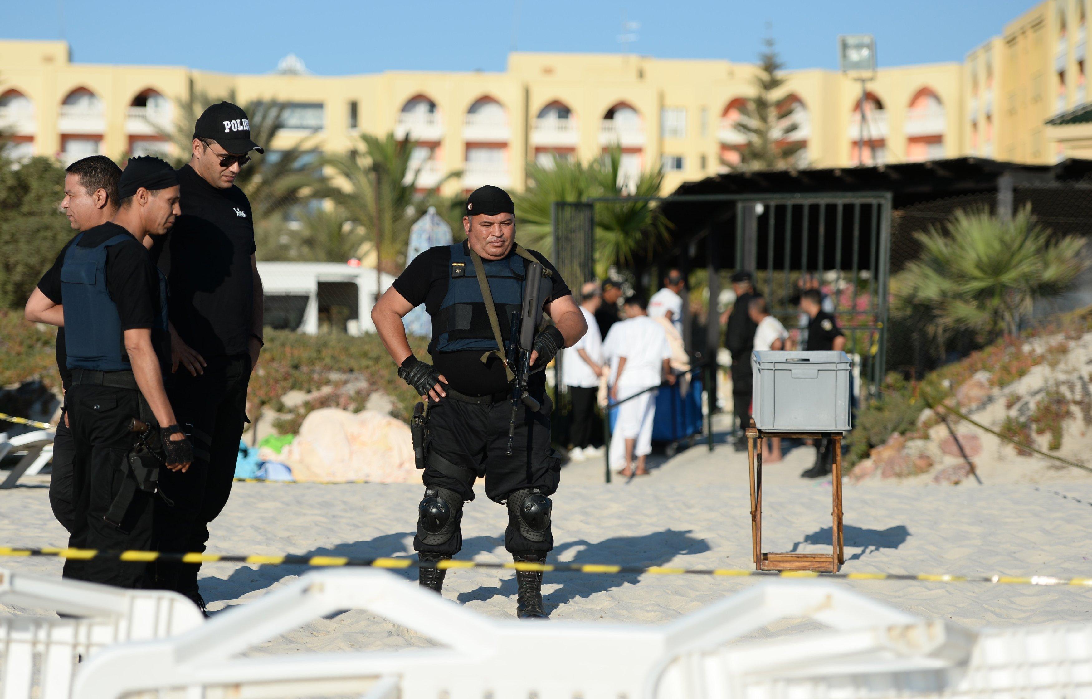 Полиция Туниса