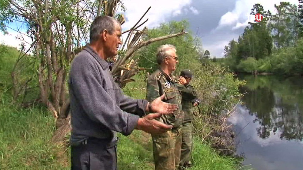 Местные жители и инспекторы рыбнадзора