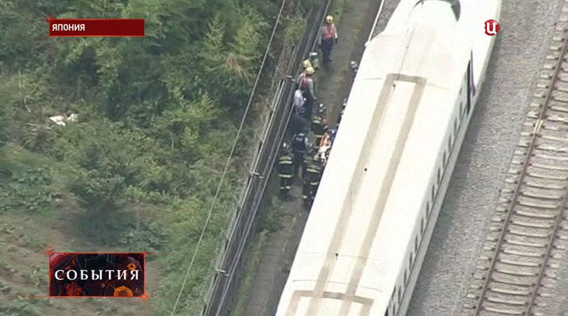 Спасательная операция в Японии
