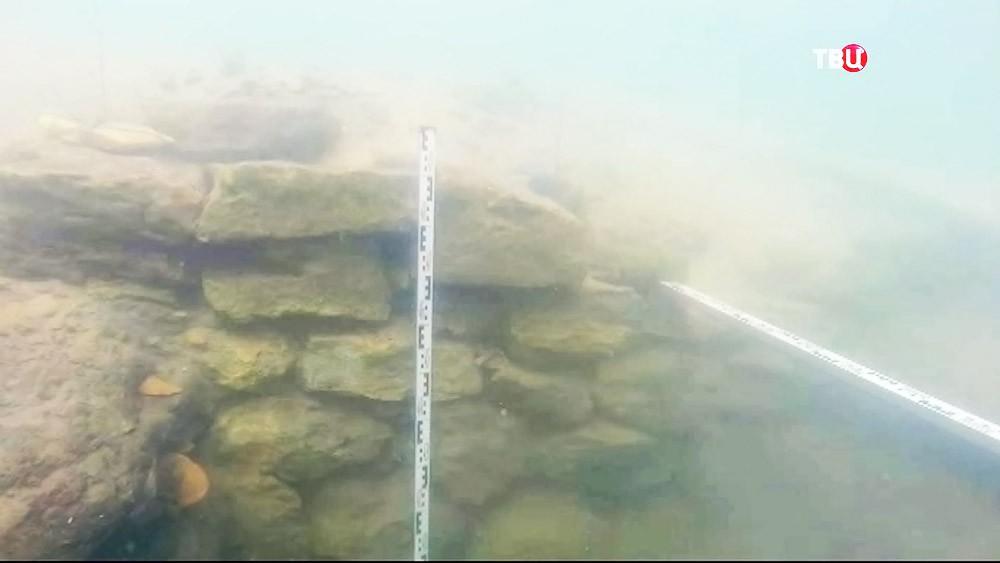 Руины античного города Акра в Крыму