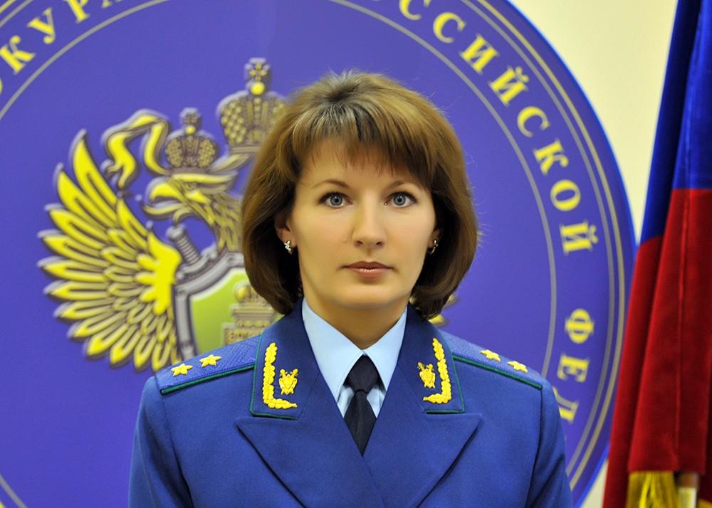 Официальный представитель Генпрокуратуры Марина Гриднева