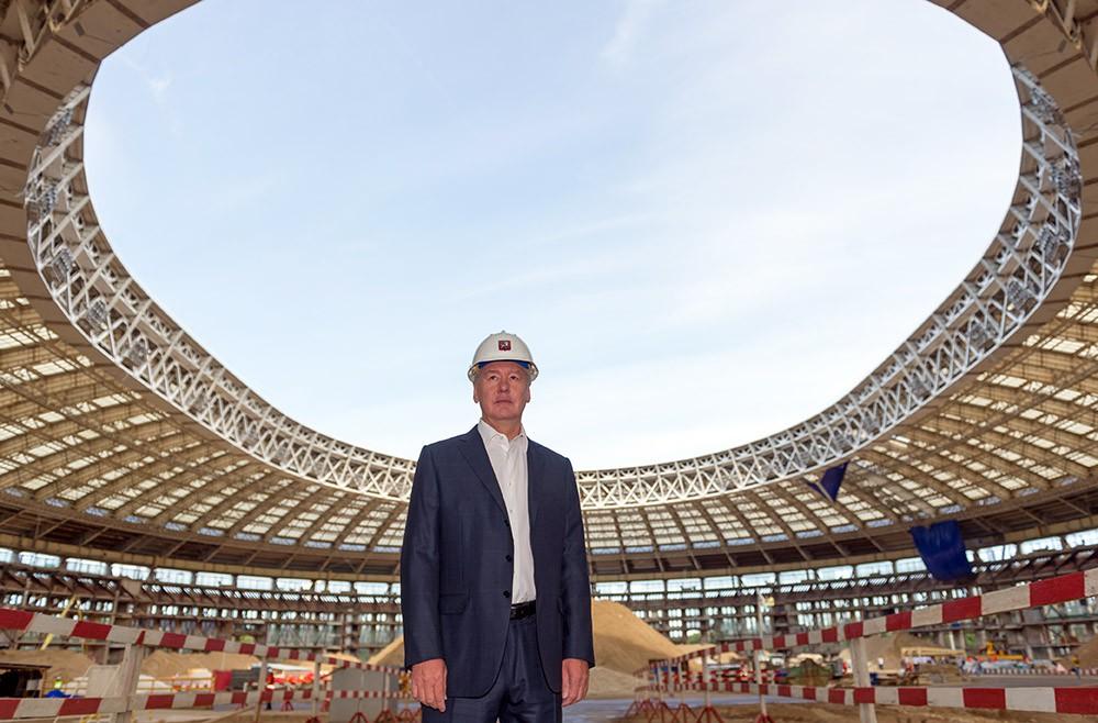Большой спортивной арены «