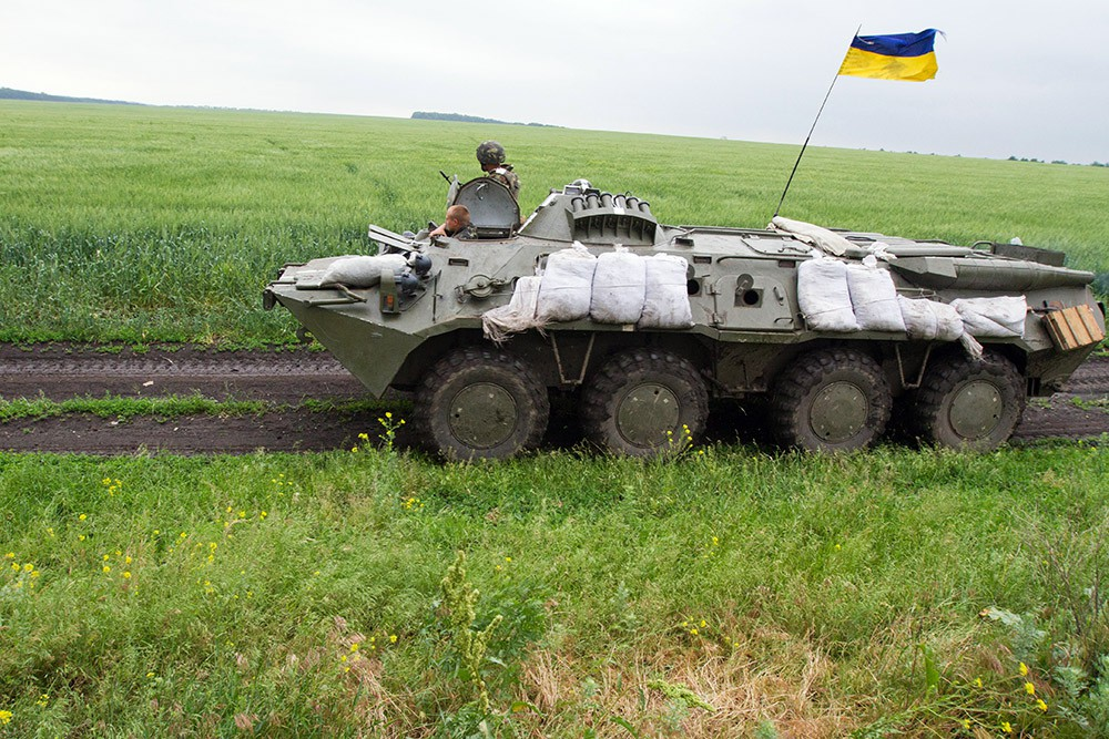 Военная техника украинской армии в Донбассе