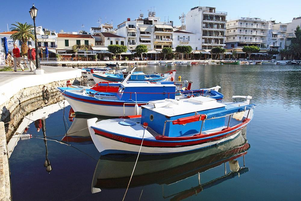 Набережная в Греческом городе
