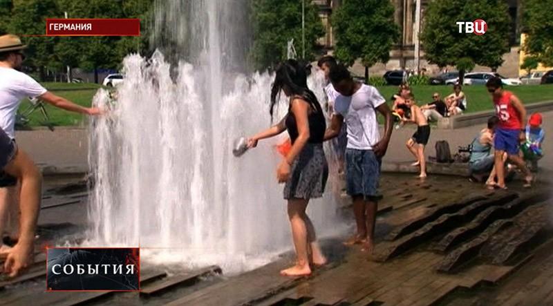 Аномальная жара в Германии