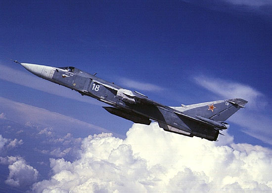 Фронтовой бомбардировщик Су-24М