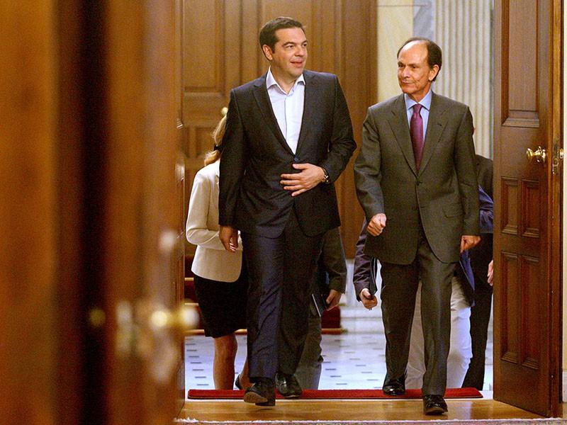Алексис Ципрас встретился с лидерами парламентских партий