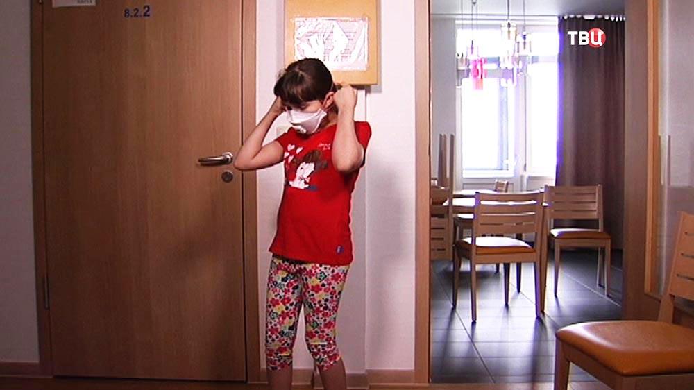 Алина Каратеева в больнице