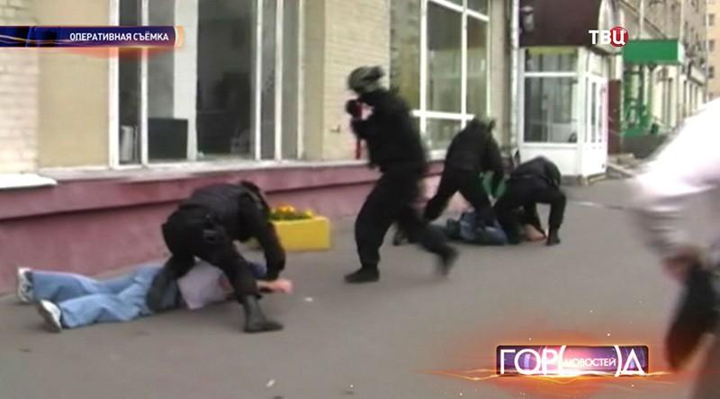 Задержание банды вымогателей