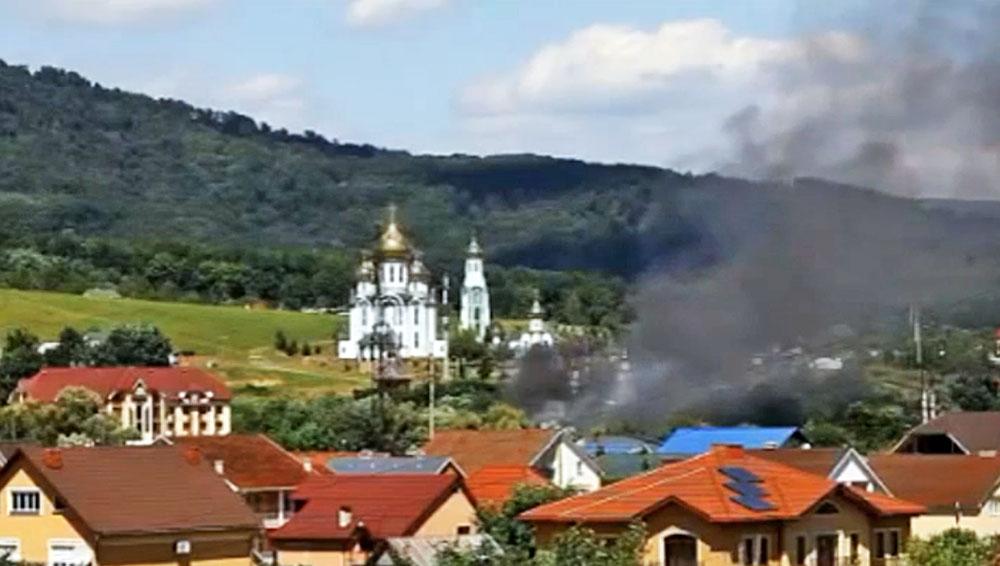 Перестрелка в Мукачево, Украина