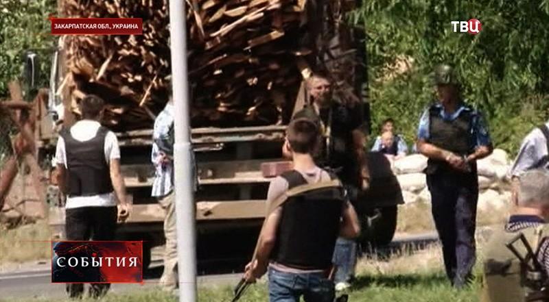Военные действия в Мукачеве