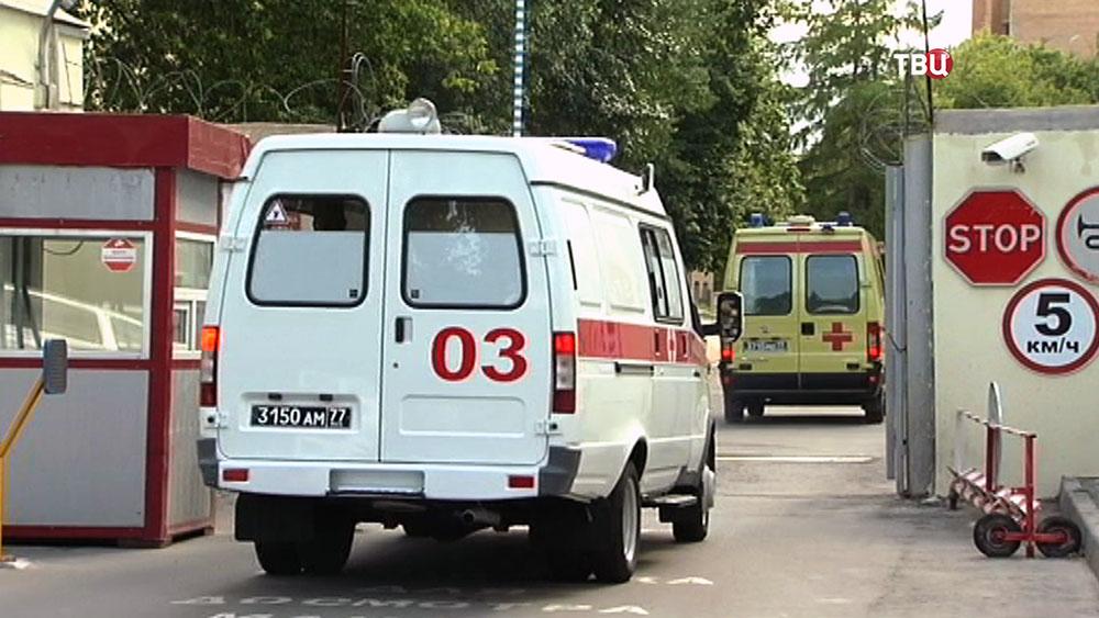 Машины скорой помощи ВС России