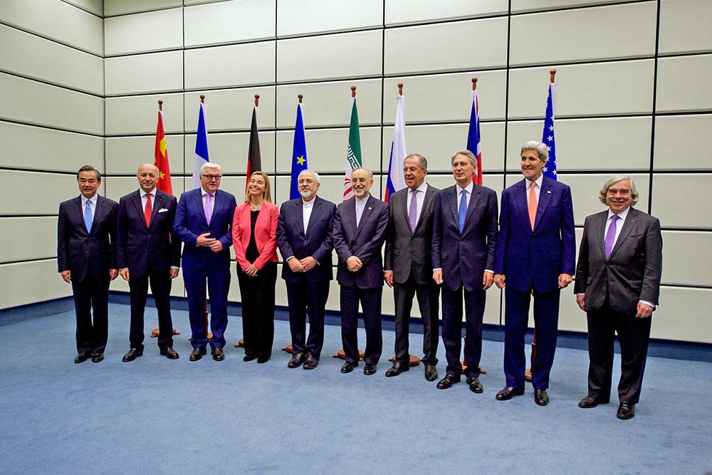 Участники переговоров по иранской ядерной программе