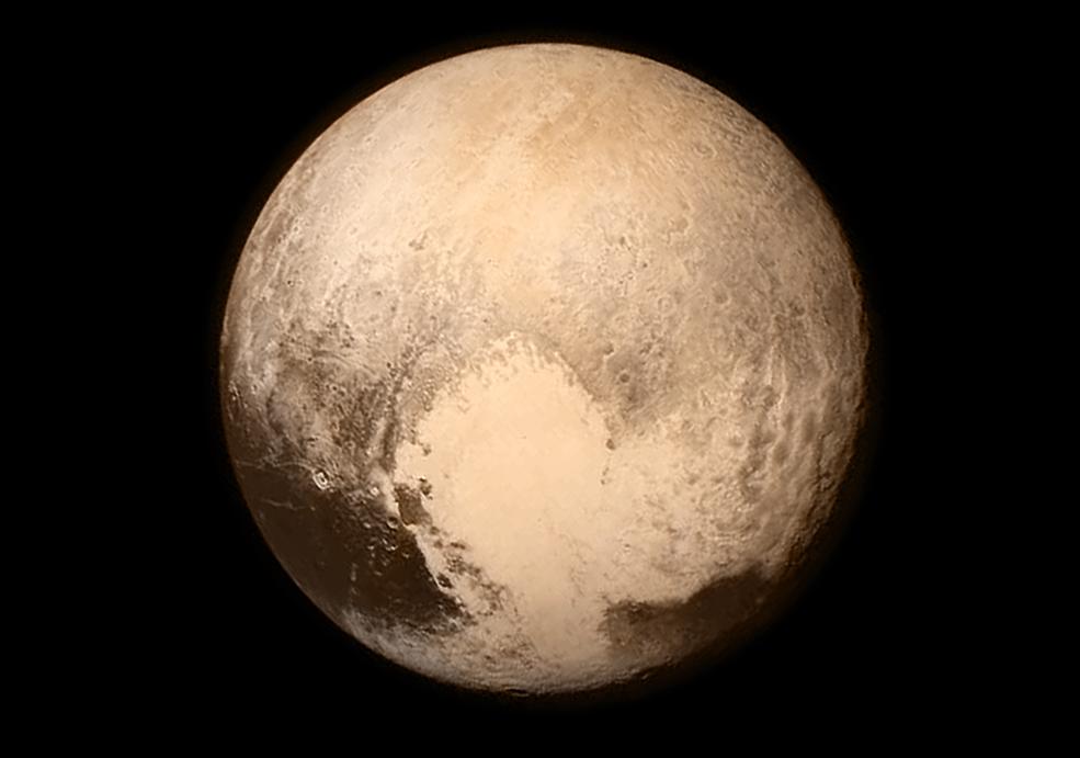 плутон фото планета