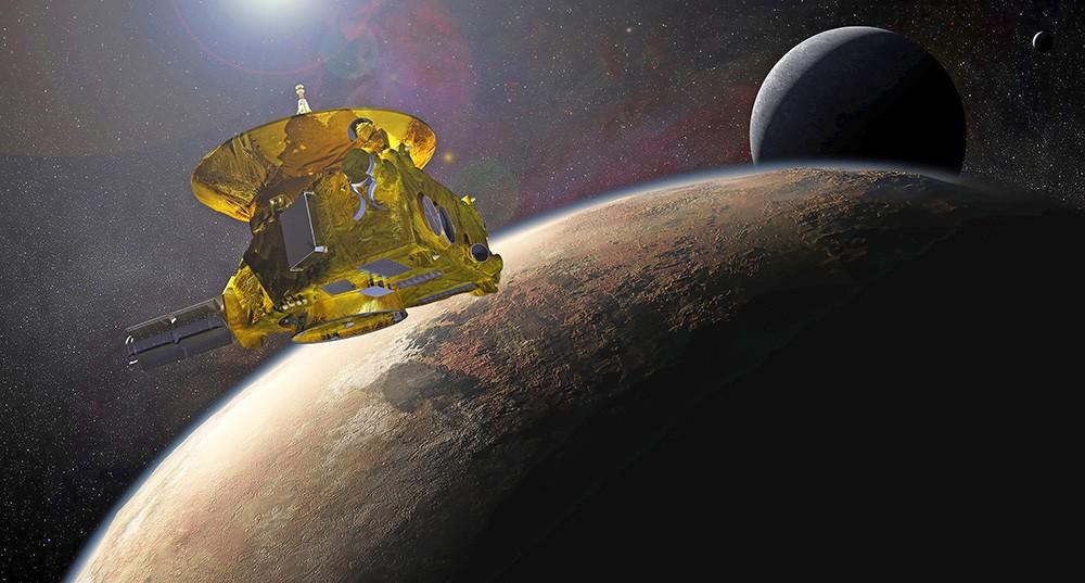 Космический зонд New Horizons