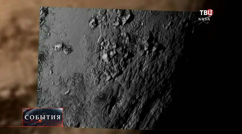 Снимок поверхности Плутона