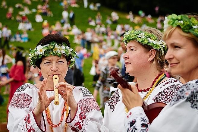 """Участники фестиваля """"Русское поле"""""""
