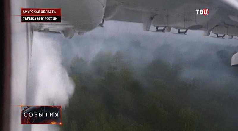 Пожары в Амурской области