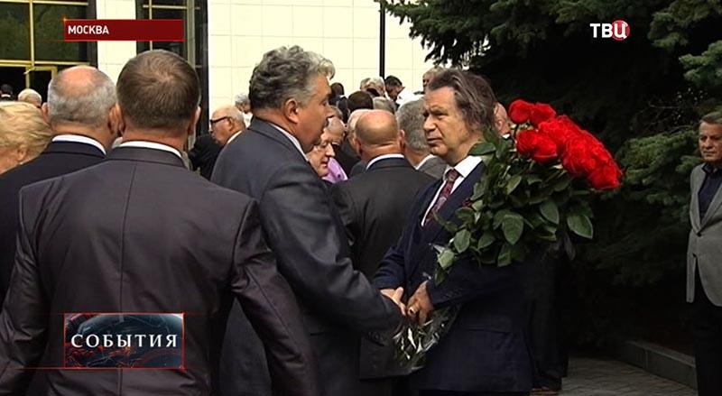 Прощание с экс-спикером Госдумы Геннадием Селезневым