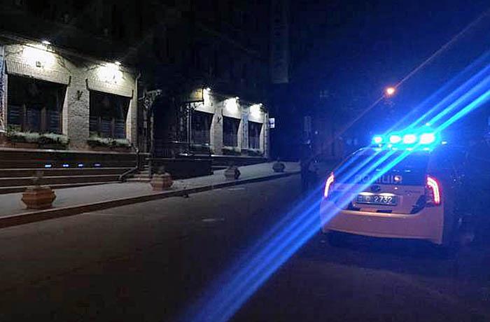 Киевская полиция на месте происшествия