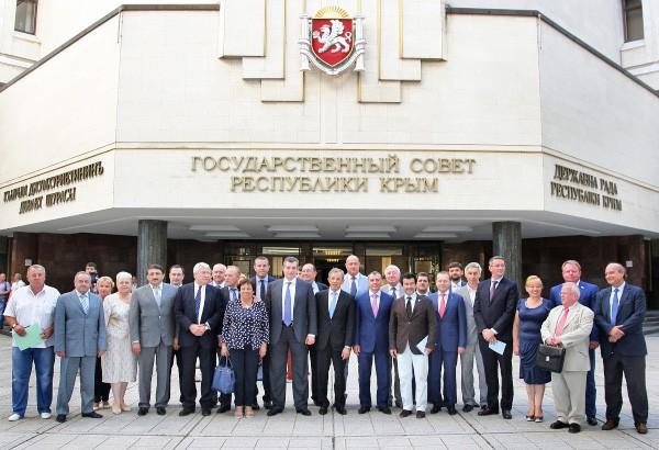 Французская делегация в Крыму