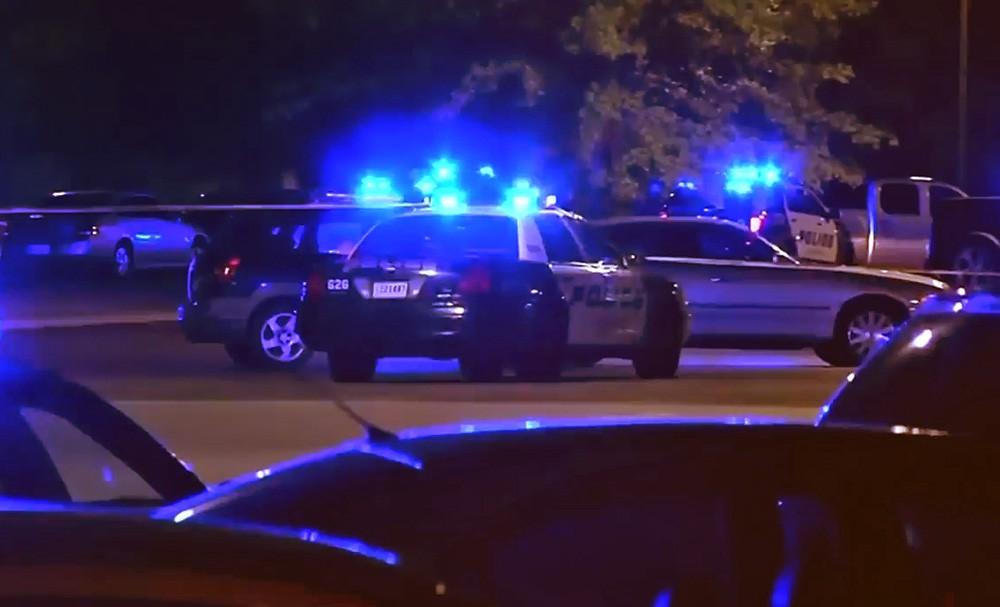 Полиция США на мете происшествия