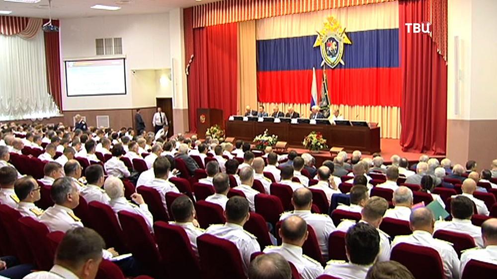 Заседание коллегии Следственного комитета Российской операции