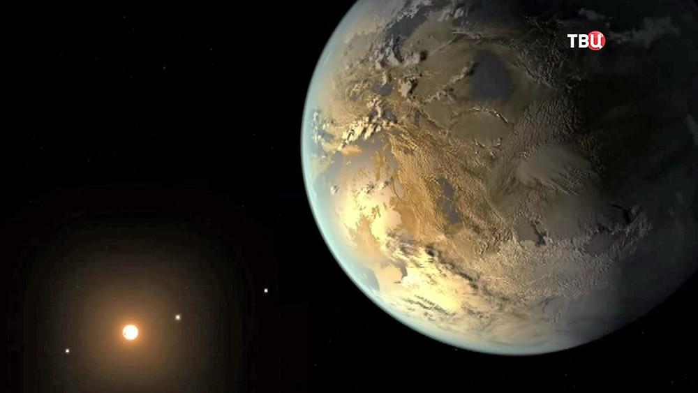 Модель планеты Kepler 452b
