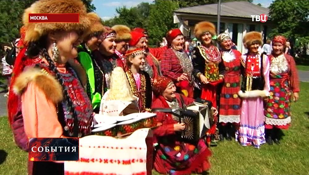 В Москве впервые отмечают удмуртский праздник Гербер
