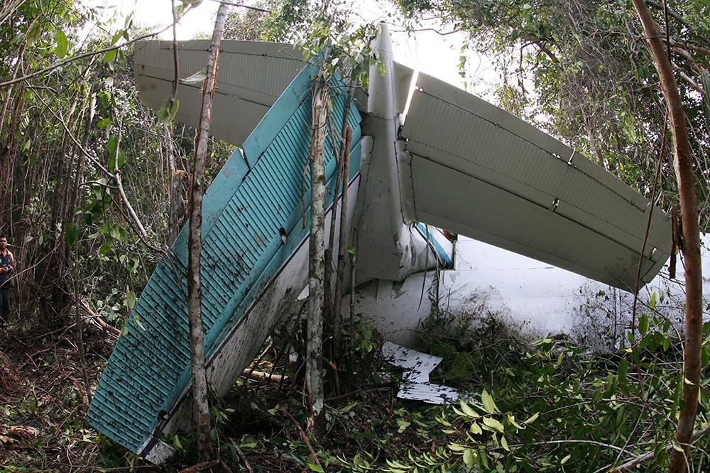 Крушение самолета в Японии
