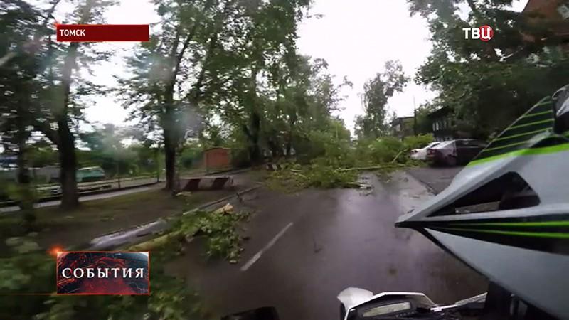 Ураган в Томске