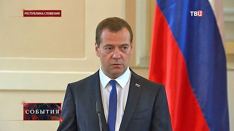 Глава российского правительства Дмитрий Медведев