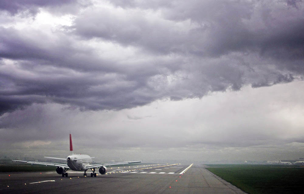 Гроза над аэродромом