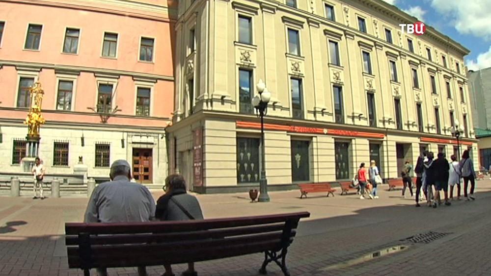 Новое здание Театра имени Вахтангова