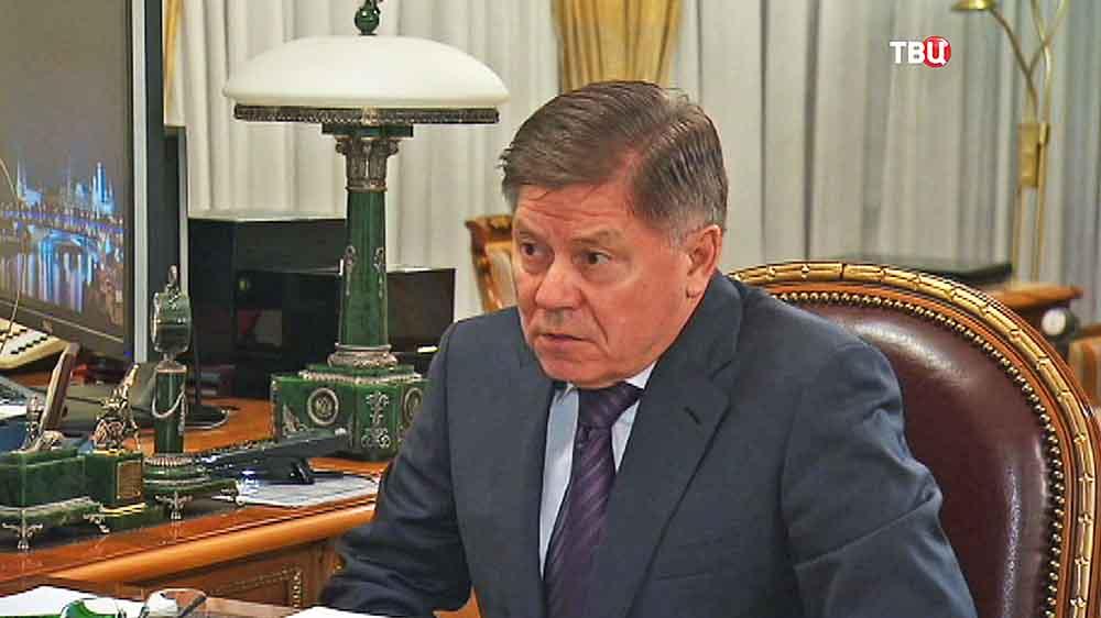 Председатель Верховного Суда Российской Федерации Вячеславом Лебедевым