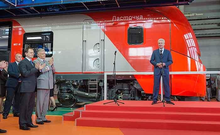 Сергей Собянин посетил железнодорожное депо «Подмосковное»