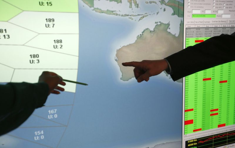 Поиски MH370