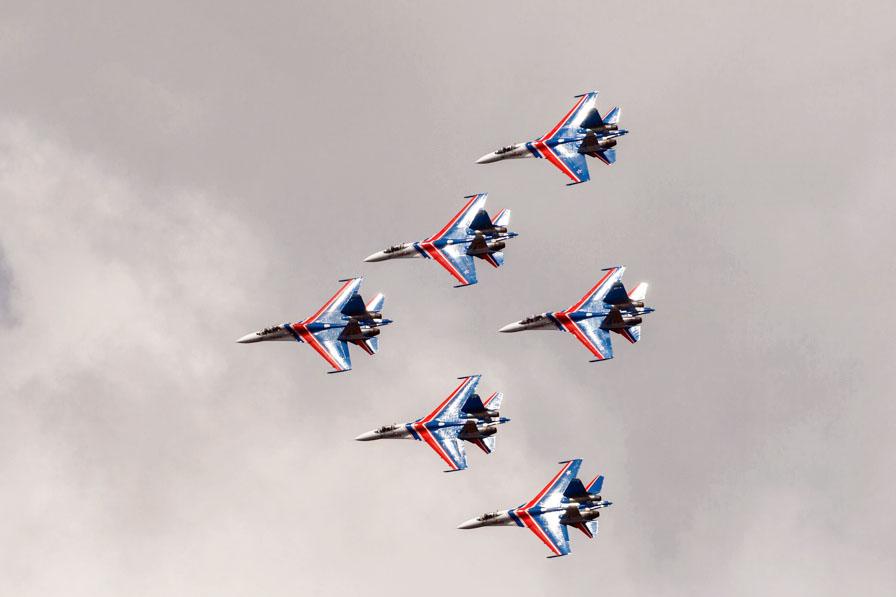 Военная авиация на Армейских международных игр