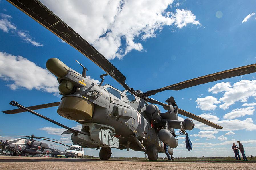 Военный вертолёт МИ-28Н