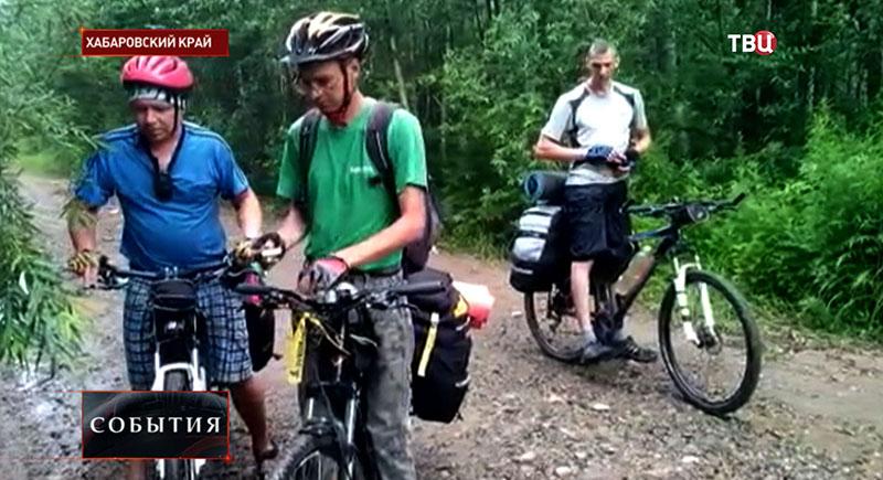 Туристы в Хабаровском крае