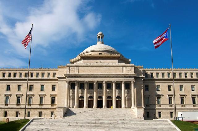 Столица Пуэрто-Рико Сан-Хуан