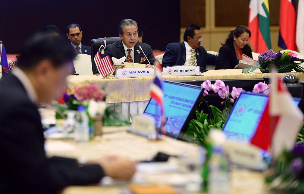 Саммит стран АСЕАН в Куала-Лумпуре