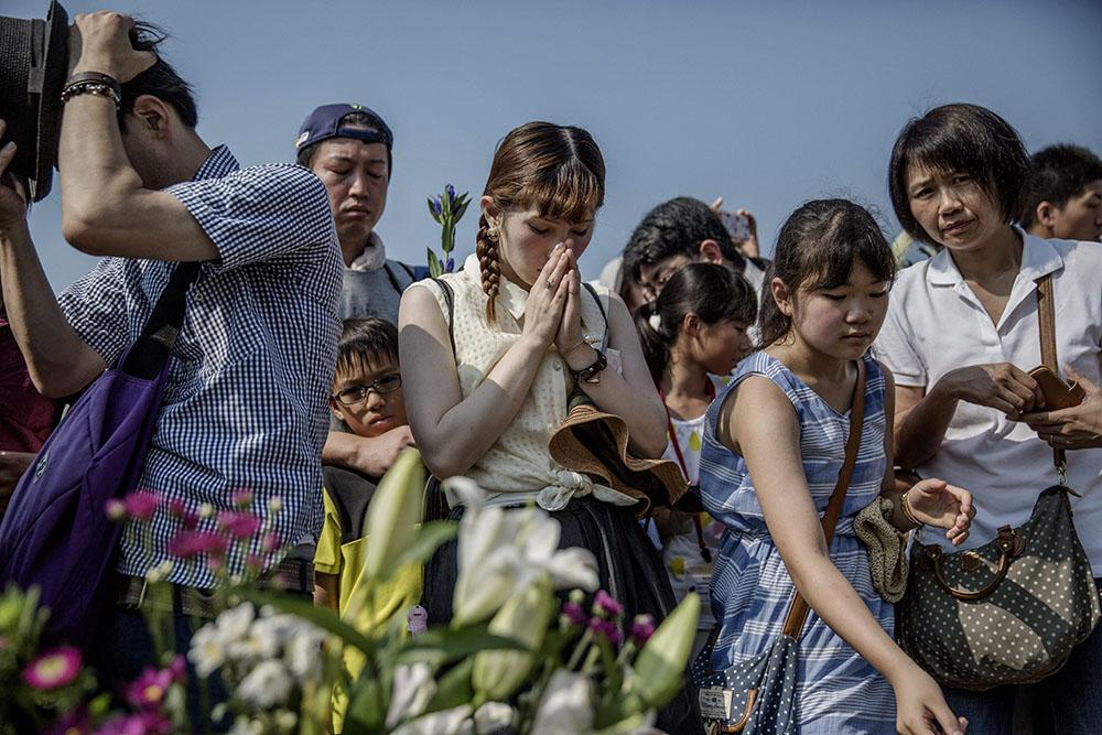 В Хиросиме почтили память жертв атомной бомбардировки