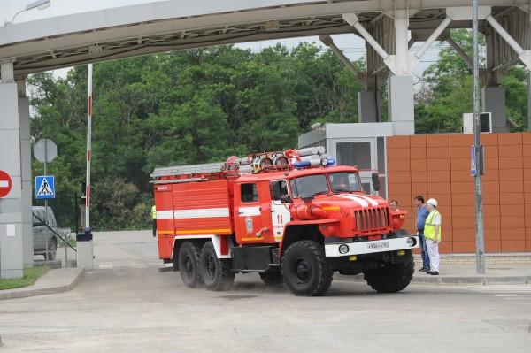 Машина пожарной службы МЧС